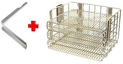 Henny Penny Basket  With handel Pressure Fryer Removable Shelves Stainless Steel