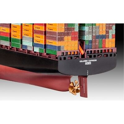 REVELL 05152 Modellbausatz Container Ship COLOMBO EXPRES 1:700, ab 12 Jahre