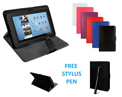 "Universal Flip Leather Cover Case Stand Fits ARCHOS Access 101 3G 10.1"" Tablet"