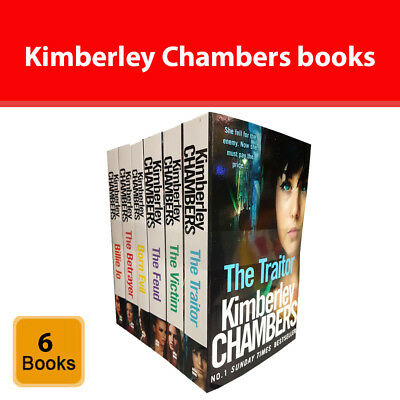 Kimberley Chambers Collection 6 Books Set pack Traitor Victim Betrayer Born Evil