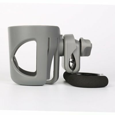 Rotatable Baby Stroller Bottle Cup Holder Bicycle Carriage Cart Rack NS