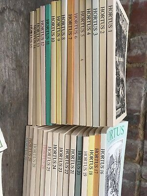 Joblot 52xHortus Gardening Journal No.1-57 Spring/Summer/Autumn/Winter 1987-2001