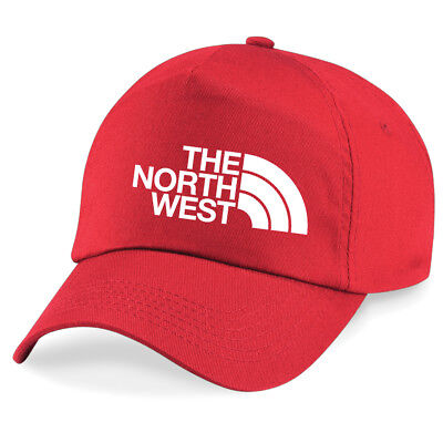 North West Liverpool Merseyside Football fan Baseball Cap 7 colours 5 panel