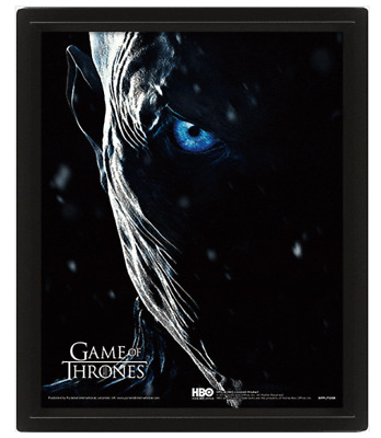 Game Of Thrones Jon Snow Knight King Official 3D Lenticular Poster Moving Pictur