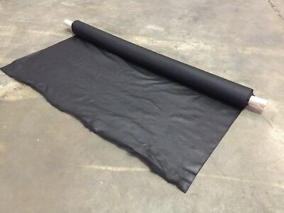 10M Heavy Duty Black Non Woven Weed Control Ground Cover Mulch Landscape Fabric