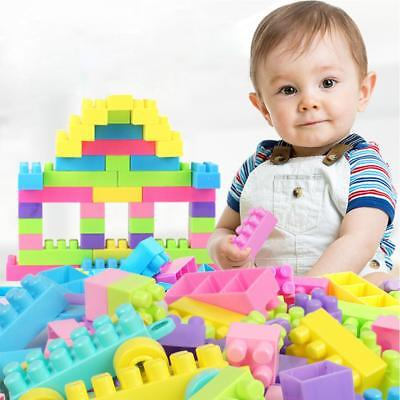 Building Blocks City DIY Creative Bricks Educational Toy Kids Construction Gift