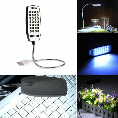 Flexible Bright Mini 28 LED USB Light Computer Lamp for Notebook Computer PC ST