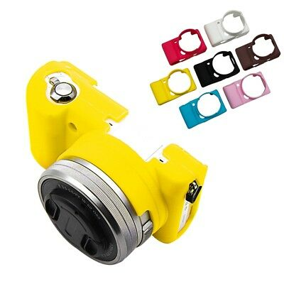 Soft Silicone Rubber Camera Case Bag Skin Cover For Sony Alpha A5100 A5000 New