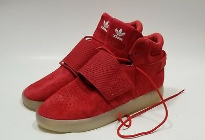new style cf8c4 720e3 ADIDAS TUBULAR INVADER Strap Red Bb5039 Originals Athletic Men's Size 11  New Wob