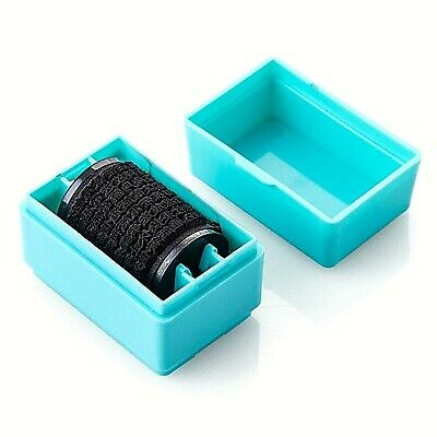 Plus Guard Your ID Mini Roller Stamp Self-Inking Stamp Messy Code Security New
