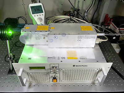 Spectra Physics BL6S-532Q Short-Pulse Q-Swiched Green Laser 532nm, 8nS, >3W avg