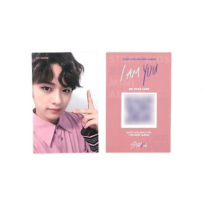 [STRAY KIDS]3rd mini album I AM YOU Official Photocard/C-2 ver./LEEKNOW