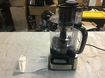 Hamilton Beach 12 Cup Stack And Snap 2 Speed Wide Mouth Kitchen Food