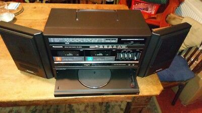 Panasonic Boombox Music Centre Record Player
