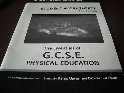 The Essentials of GCSE PE Worksheets (Student Worksheets) By  Peter Urwin, Donn