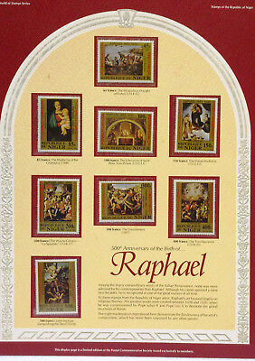 500th Anniversary of the Birth of Raphael Niger Stamp Poster