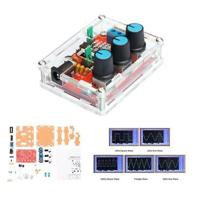 Function Signal Generator Sine Triangle Square 1HZ-1MHZ Wave DIY Kit AU