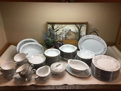 Noritake LEONORE Dinnerware,6676, 'Your Choice', Beautiful Used Cond! 70pc avail