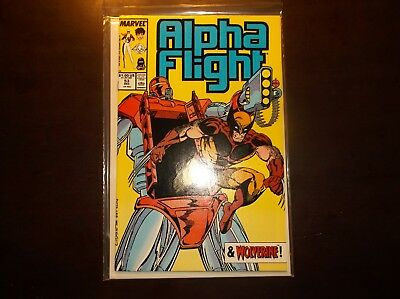 Alpha Flight #53 December 1987 Nm Near Mint 9.4 Early Jim Lee Art High Grade