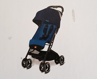 Gb Pocket Plus Stroller Lightweight Seaport Blue New In Box Free Shipping