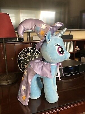 NWT BUILD A BEAR MLP My Little Pony Trixie With Custom Cape And Hat, New