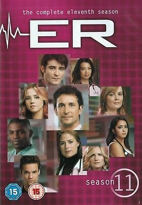 Er Complete Season 11 Collection New 6 Dvd Exclusive Includes All 22 Episodes R4