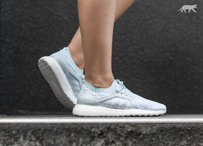 best service 5854f 3146b Adidas Ultraboost X Parley Womens Running Shoes BY2707 Size 10 MSRP 200