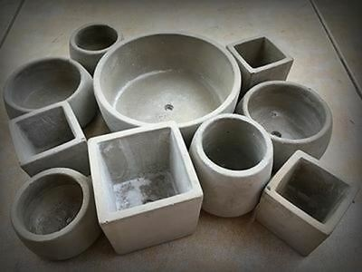 Ceramic Clay Pots Mold Concrete Planter Silicone mould for home decoration table