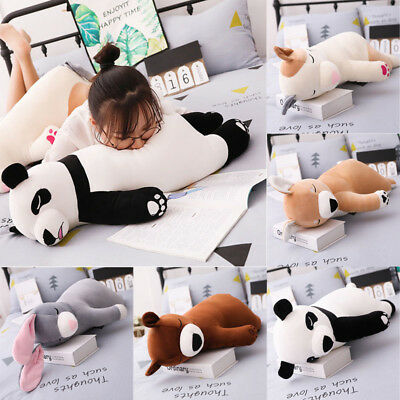 Cute Plush simulation Toy Stuffed Animal Doll Puppy Pet Pillow Cushion 45/75cm