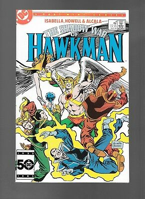 Shadow War of Hawkman #4 (Aug, 1985) DC Comics Mini-Series Hawkwoman VF/NM 9.0