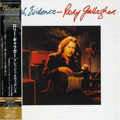 RORY GALLAGHER Fresh Evidence JAPAN CD BVCM-37890 2007 OBI