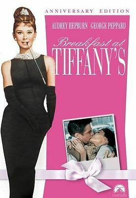 Breakfast at Tiffanys DVD Anniversary Edition Brand New Audrey Hepburn