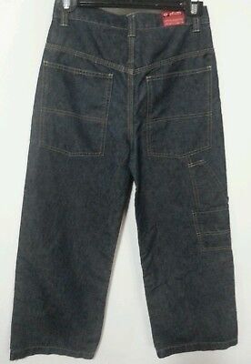 Omm Loose Fit Vintage Blue Jeans Size 10 Baggy Riding Jeans Hip Hop Nwot Kids