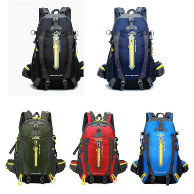 Outdoor Sports Backpack 40L Waterproof Mountaineering Hiking Camping Traveling