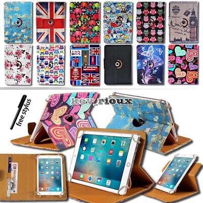 Leather Rotating Stand Cover Case For iPad 123456/mini 1234 / Air 12 /Pro 9.7""