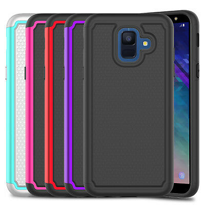 For Samsung Galaxy A6 /SM-A600A Shockproof Hard Defender Armor Phone Case Cover