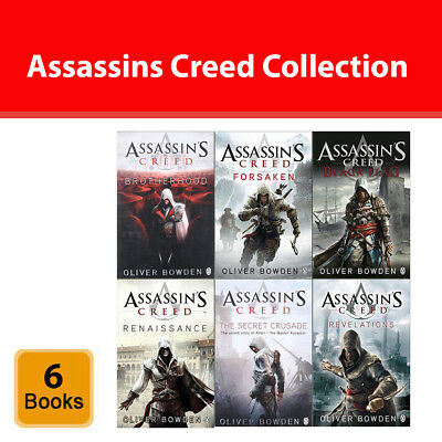 Assassins Creed series Oliver Brotherhood collection 6 books set Fiction pack