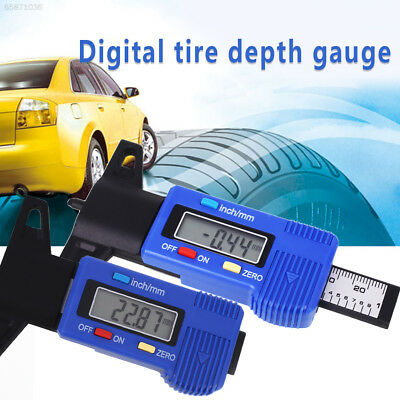 09A2 Digital Tire Depth Measure Tool Tire Thread Depth Gauge Caliper Tyre