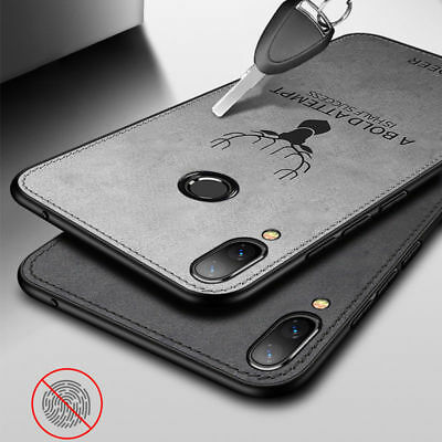 For Huawei P20 Pro Lite Nova 3e Soft Fabric Deer Pattern Case Shockproof Cover