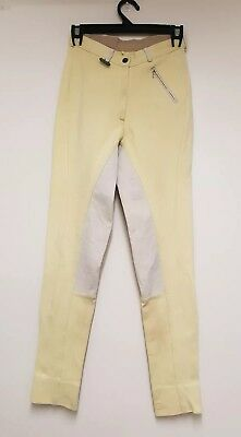 Dublin Womens Long Aus Size 12 Riding Pants / Jodhpurs in Beige