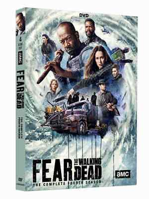 Fear The Walking Dead Season 4 Dvd - Brand New & Sealed + Free Priority Post