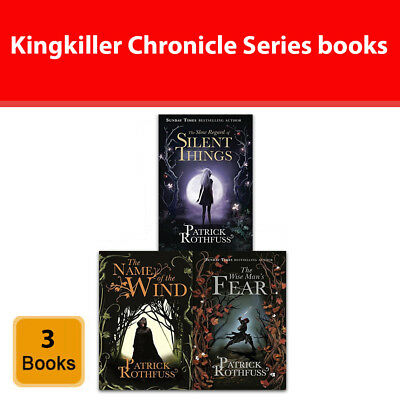 Kingkiller Chronicle Series Patrick Rothfuss 3 Books Set collection NEW Book