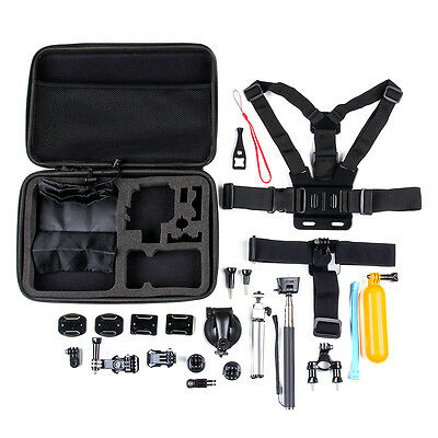 30 in1 GoPro Accessories Kit Action Camera Accessory set  Head Mount Chest Strap