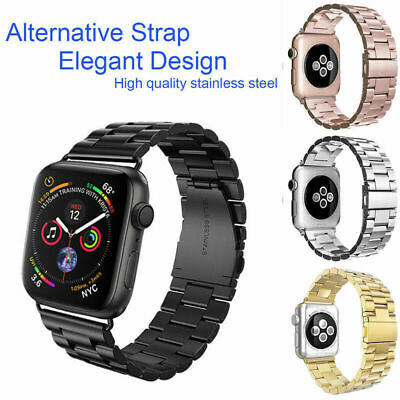 For Apple Watch iWatch Serie 4321 Stainless Steel Strap 38/42/40/44mm Watch Band