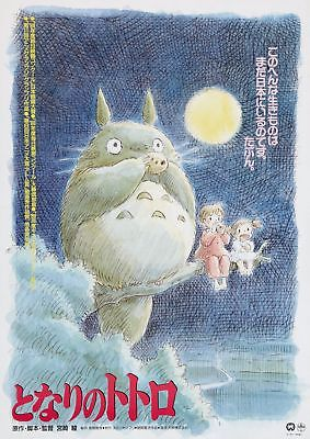Tonari no Totoro Movie Art Silk Poster 8x12 24x36 24x43