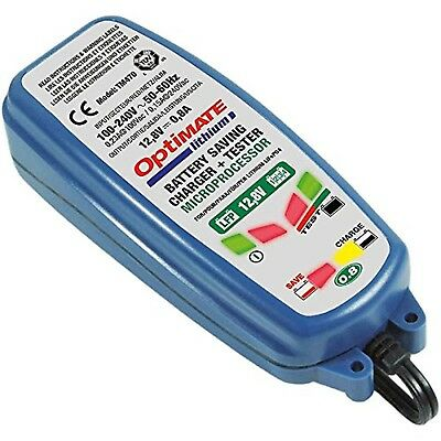 Optimate Lithium Battery Charger & Optimiser 0.8A 12.8V