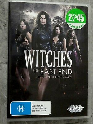 Witches Of East End : Season 1 (DVD, Region 4, 3-Disc Set) D1