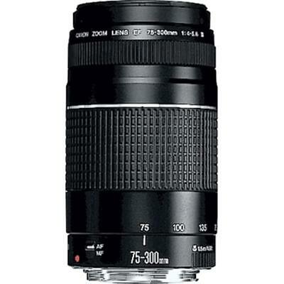 Brand New Canon EF 75-300mm f/4-5.6 III Non USM On Sales AU