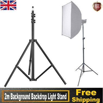 2m Studio Stand Holder for Photo Soft Box Continuous Tripod Light Adjustable Hot