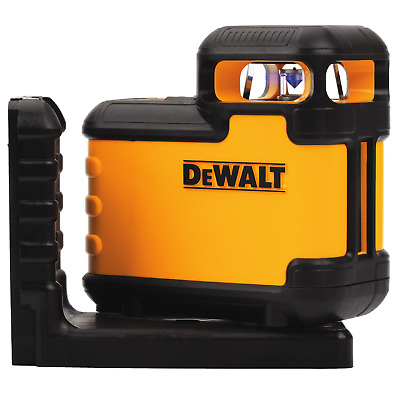 DeWalt 360-DEGREE CROSS LINE LASER DW03601-XJ 20m Range, Red Beam *USA Brand